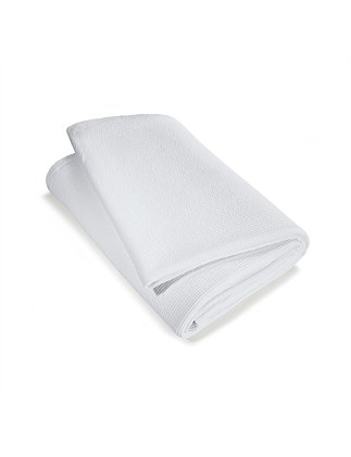 Aiden White Bedcover 250x220cm