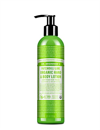 Hand & Body Lotion 236ml - Patchouli/Lime