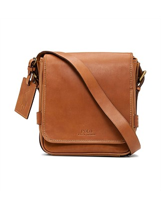 Smooth Leather Reporter Bag
