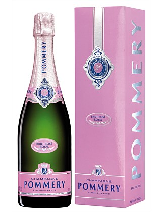 Pommery Brut Rose NV in Gift Box