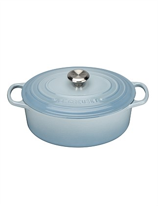 Signature Oval Casserole 29cm/4.7l Coastal Blue