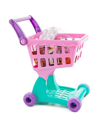 Play Circle Shopping Cart & Groceries