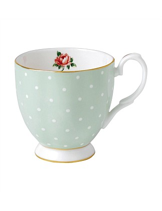 Polka Rose Vintage Mug 300ml