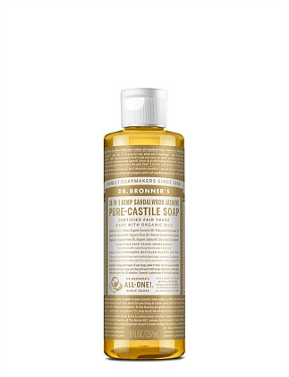Liquid Castile Soap 237ml - Sandalwood Jasmine