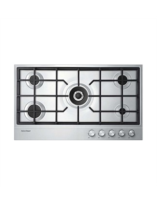 Fisher & Paykel CG905DX1 90cm Gas Cooktop 4 Burners + Wok