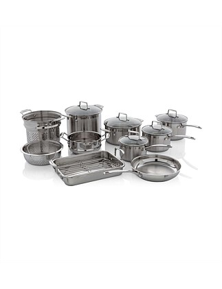 Impact Stainless Steel 10 Piece Cookware Set