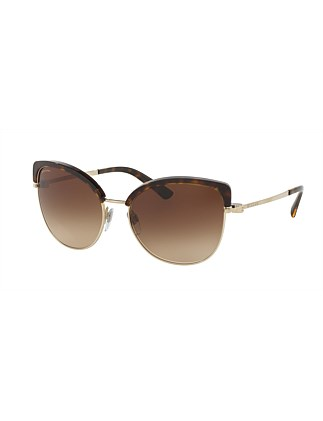 0bv6082 Cat Eye Sunglasses