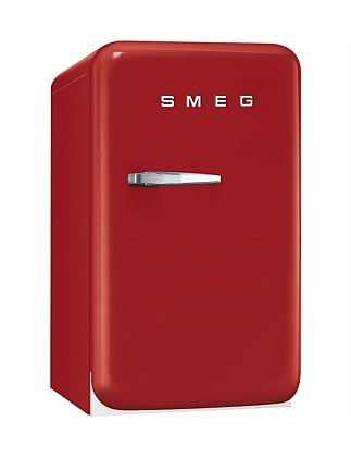 FAB10HRR 135L Bar Fridge, Red - RH Door