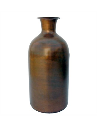 Copper Iron Bottle Large Vase