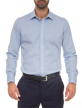 Colby Extra Slim Fit - Pure Cotton Easy Iron Check Shirt