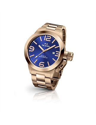 50mm 3 Hands Quartz Full Plating Rose Gold