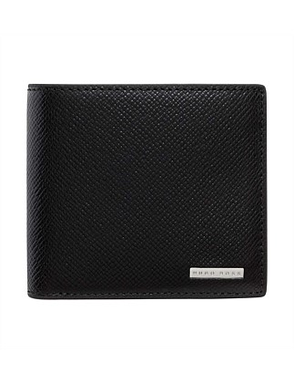 Signature Embossed Leather 4cc Billfold Wallet