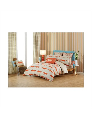 Mr Fox Double Bed Quilt Cover