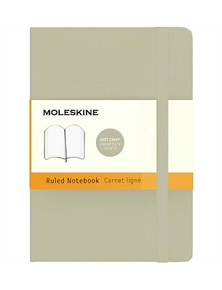 Classic Soft Cover Ruled Notebook Pocket