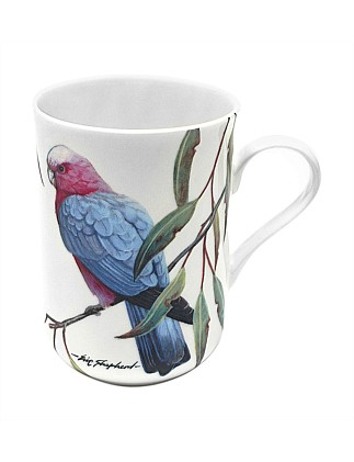Birds Of Australia Pink And Grey Galas Mug