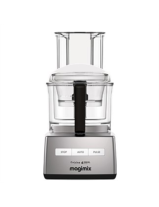 CS4200 Extra Large Matt Chrome Food Processor