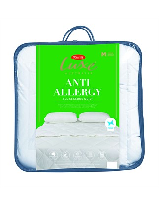Luxe Anti Allergy Quilt Single