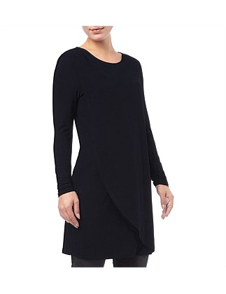Dotty Draped Tunic