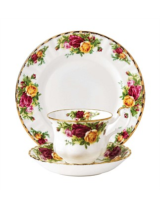 Royal Albert Old Country Roses  Teacup, Saucer & Plate