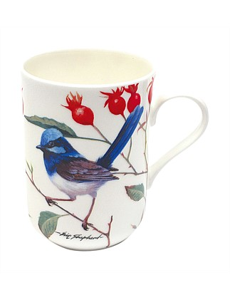 Birds Of Australia Blue Wrens Mug