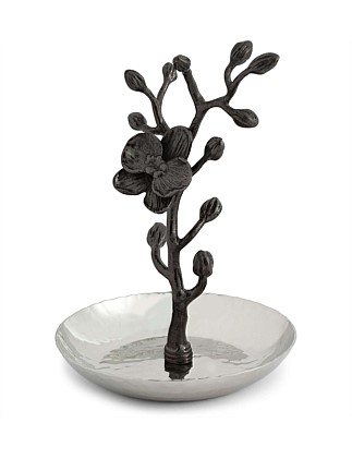 Black Orchid Ring Catch