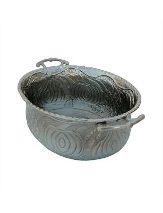 Pewter Brass Large Bowl