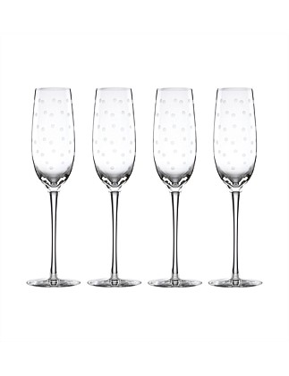 Larabee Dot Flutes Set Of 4