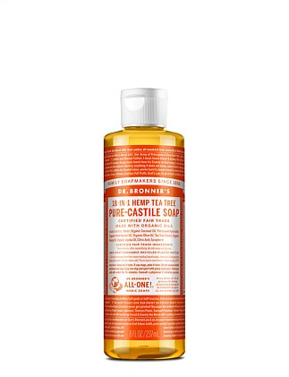 Liquid Castile Soap 237ml - Tea Tree