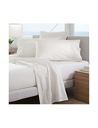 Classic Percale King Single Fitted Sheet