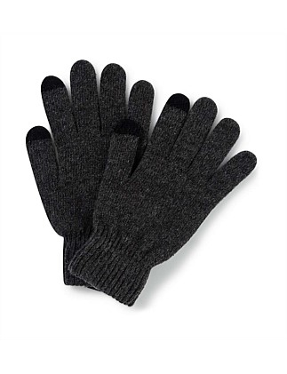 Knit Glove With Tech Tip