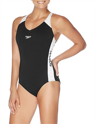 Speedo Womens Splice One Piece