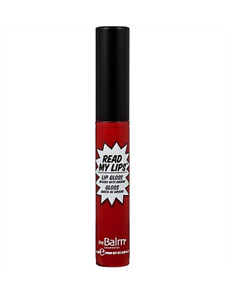 Read My Lips lipgloss- WOW!