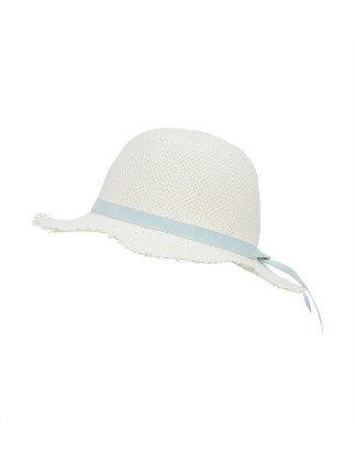 16a070a2937 Paper Packable Hat W Ribbon