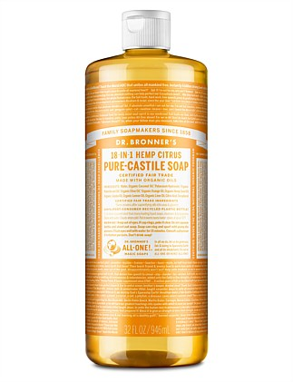 Liquid Castile Soap 946ml - Citrus Orange