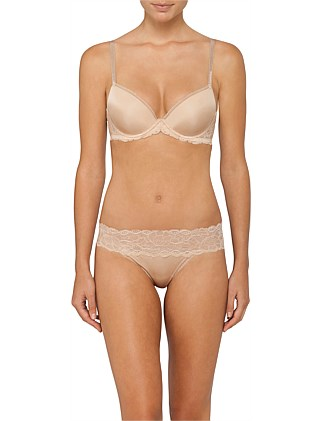 Seductive Comfort With Lace Demi Lift