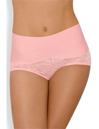 Sweeping Curves Lace Brief