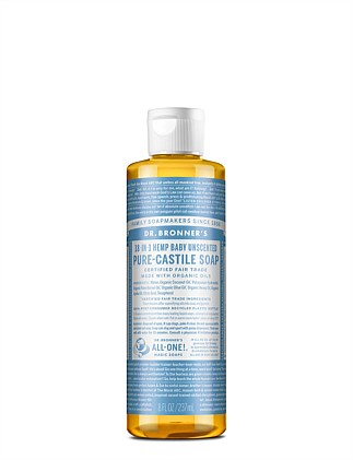 Liquid Castile Soap 237ml - Baby Mild