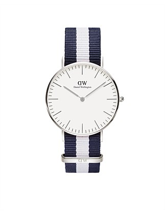 Classic Glasgow 36mm S White Dial Watch