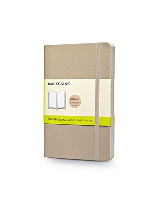 Softcover Notebook Pocket Plain