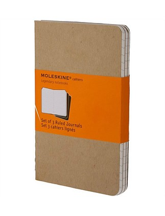 Cahier Set Of 3 Large Ruled Notebook