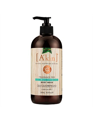 Fragrance Free Mild & Gentle Shampoo 500mL