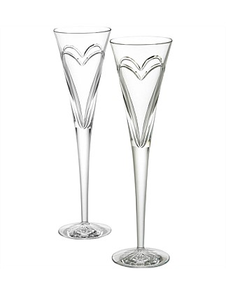 Celebration Flutes Love Pair