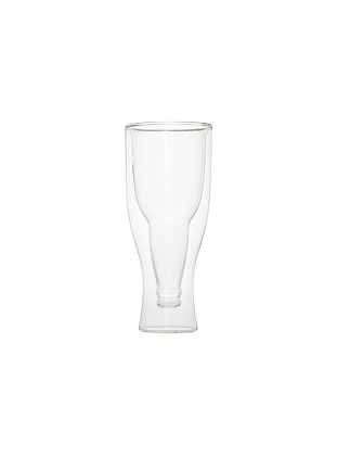 Double Wall Beer Glass 400ml
