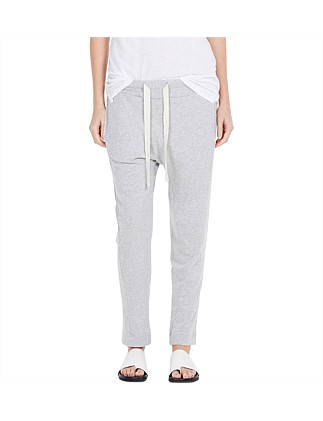 Drapey Terry Track Pant