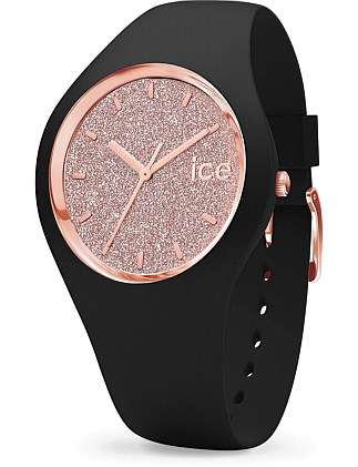 Ice Glitter - Black Rose-Gold - Small