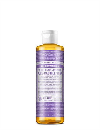 Liquid Castile Soap 237ml - Lavender