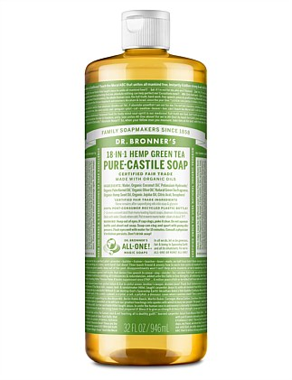 Liquid Castile Soap 946ml - Green Tea