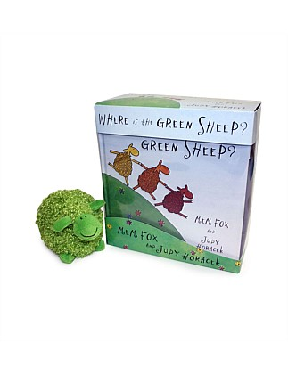 Where is the Green Sheep? Book & Plush Set
