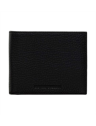 LINEA LUXOR PEBBLED LEATHER 8CC BILLFOLD Wallet