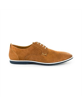 Tonga Derby with Plain Nubuck Vamp
